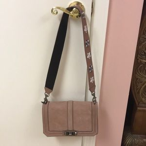 Rebecca minkoff love crossbody with beaded strap